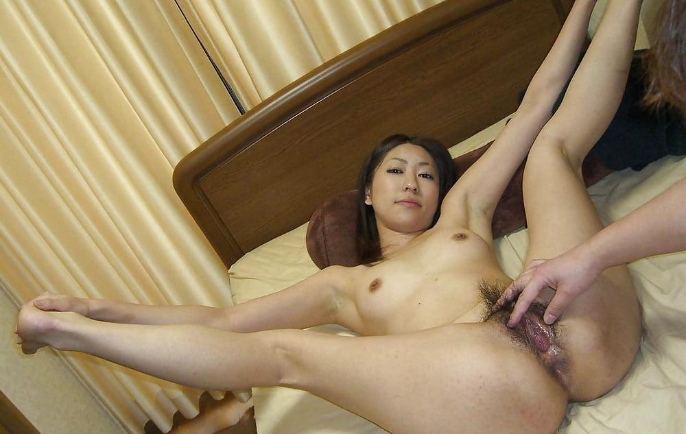 Super-cute Asian gf messy liberate..