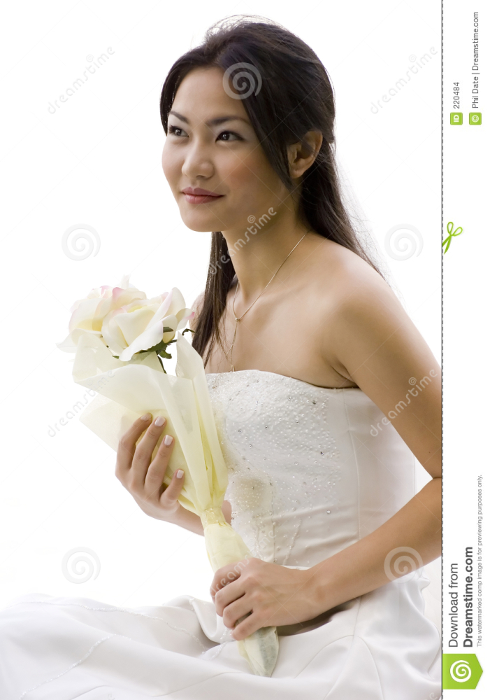 Chinese Bride 3 stock photo.  of..