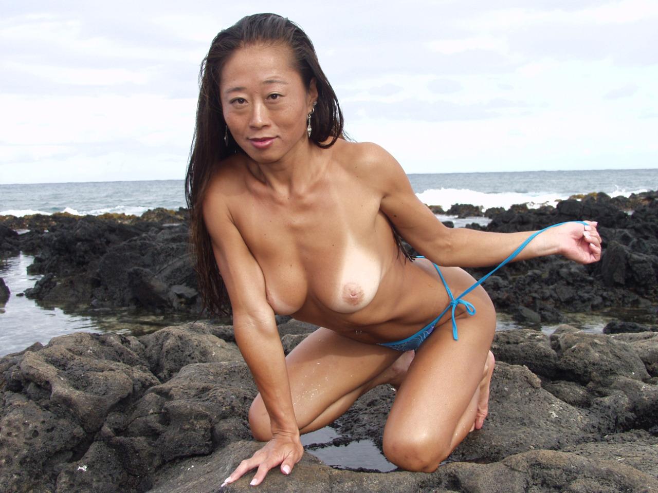 Hawaii bare chinese beach honeys -..