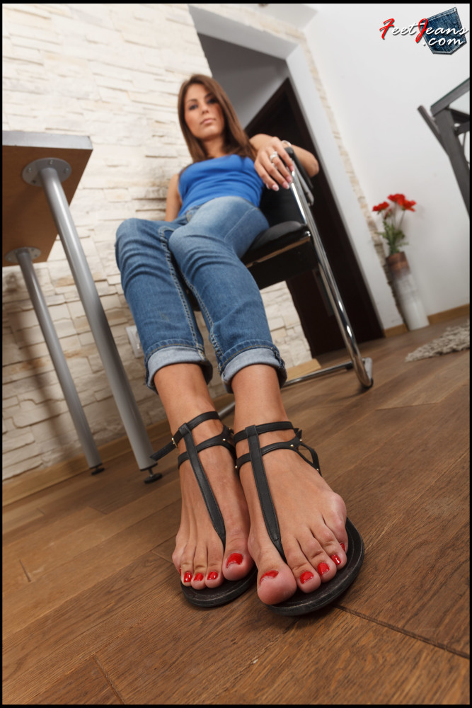 Wu's Soles  - FeetJeans