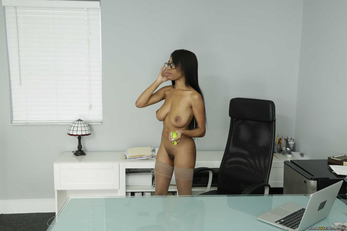 My Bare Boss, Brittney chatting on a..